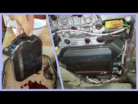 Если тупит и не тянет при разгоне Замена масла в автомате АКПП своими руками Toyota