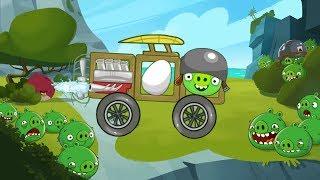 getlinkyoutube.com-Bad Piggies Online Games - Episode Bad Piggies Rocket Jet Levels 1-4 - Rovio Games