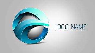 Photoshop Tutorial | 3D Logo Design (Element)