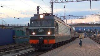 getlinkyoutube.com-Выбивание ГВ при отправлении поезда и недовольный помощник машиниста