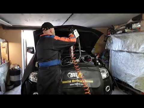 Профилактика дешевле ремонта Очистка системы воздухозабора Mitsubishi Pajero