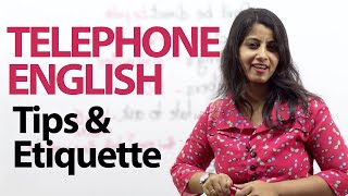 Telephone Tips & Etiquette - Telephone Etiquette to sound impressive - Free English lesson width=