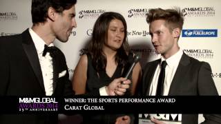 Interview with Carat Global winners of The Sports Performance Award