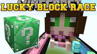 getlinkyoutube.com-Minecraft: EPIC SO MANY LUCKY BLOCKS RACE - Lucky Block Mod - Modded Mini-Game