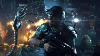 getlinkyoutube.com-Aliens Colonial Marines Contact Trailer Extended Cut