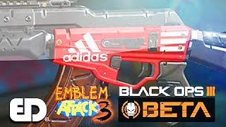 getlinkyoutube.com-Black Ops 3: ADIDAS Theme Paint Job (Emblem Attack 3)
