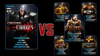 getlinkyoutube.com-REAL STEEL WRB Championship Cardinal Chaos Gold Series of fights NEW UPDATE