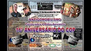 16º Aniversário do COP na Bohemia-RJ