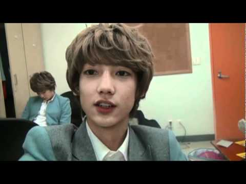 120116 Boyfriend W academy - Youngmin's ucc