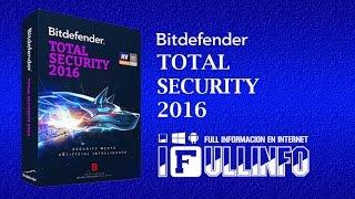 getlinkyoutube.com-Bitdefender Total Security 2016 - RENOVAR CODIGO DE ACTIVACION