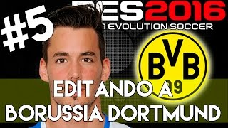 getlinkyoutube.com-PES 2016 | Abilities and face stats of Roman Burki | Editando a Borussia Dortmund #5 | PS4.