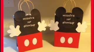 getlinkyoutube.com-DIY-MICKEY MOUSE GOODIE BAG