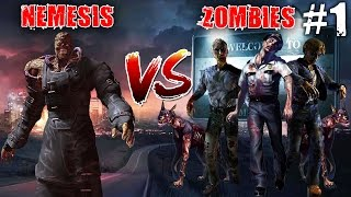 getlinkyoutube.com-Resident Evil 3 Nemesis Vs Zombies (Funny)