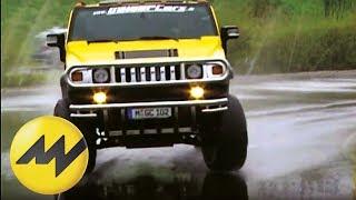 getlinkyoutube.com-Fahrertraining Drive & Fly: Jumbo bringt den Hummer H2 Hannibal ans Limit