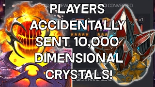 getlinkyoutube.com-Players Accidentally Sent 10,000 Dimensional Crystals - Marvel Contest Of Champions