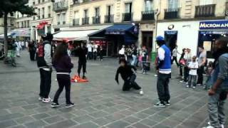 Street Battle : Les Twins VS  Bones+Pee Fly VS Laura+Boubou