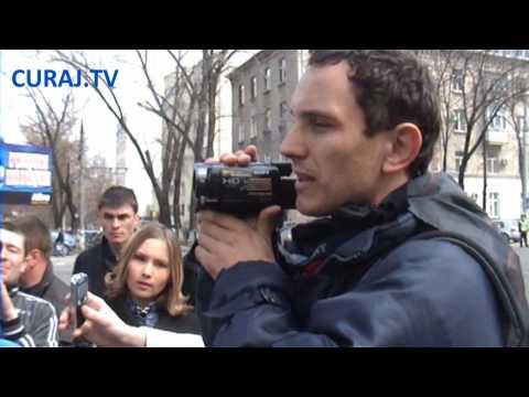 Protest HP la Ambasada Rusiei din Chișinău (31.03.2010)