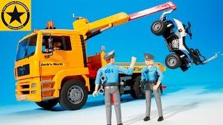 getlinkyoutube.com-BRUDER POLICE Academy ADVENT CALENDAR (Dec.4) in JACK CITY