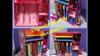 getlinkyoutube.com-organizador de cuadernos o libros