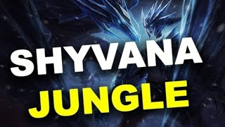 Shyvana Jungle Season 5 Full Game Commentary - League of Legends