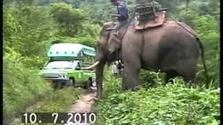 getlinkyoutube.com-ขี่ช้างล่องแพ สังขละบุรี 1