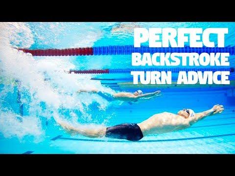 Perfect Backstroke Turn - Swimming Advice from Simply Swim