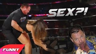 Pervy Jerry Lawler Wants To Have Sex With Nikki And Brie Bella's ? - WWE FUNNY MOMENT 2014