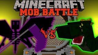 getlinkyoutube.com-ENDER REAPER VS BASILISK - Minecraft Mob Battles - OreSpawn Mod