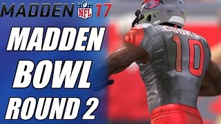 getlinkyoutube.com-MADDENBOWL RD. 2 | MAKING STUPID MISTAKES | MADDEN 17 SALARY CAP TOURNAMENT GAMEPLAY