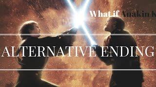 getlinkyoutube.com-What If anakin Killed Obi-Wan (Revenge of The Sith Alternative ending)