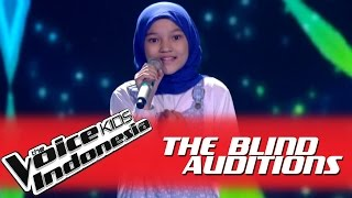 "getlinkyoutube.com-Rachel ""The Show"" I The Blind Auditions I The Voice Kids Indonesia GlobalTV 2016"