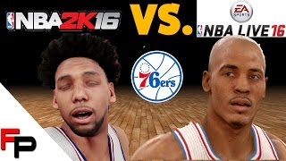 getlinkyoutube.com-NBA 2K16 vs.  NBA Live 16 - Philadelphia 76ers - Player Faces