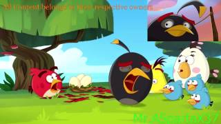 getlinkyoutube.com-Angry Birds Toons- Bomb has a Crying Sparta Venom Mix (V2)