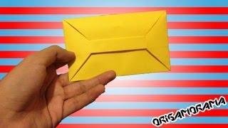 getlinkyoutube.com-Cómo hacer un SOBRE para cartas SIN pegamento (#cartasplegables)