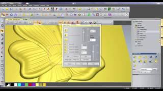 getlinkyoutube.com-Relief Modelling Features in ArtCAM Pro & JewelSmith