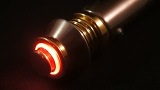 getlinkyoutube.com-Korbanth SID Darth Sidious Custom Star Wars FX Lightsaber Number 2 For Son