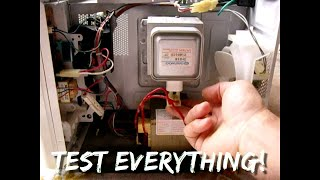 getlinkyoutube.com-Microwave Oven Troubleshooting in MINUTES ~ STEP BY STEP
