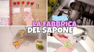 getlinkyoutube.com-LA FABBRICA DEL SAPONE: facciamo Creazioni Profumate e Colorate