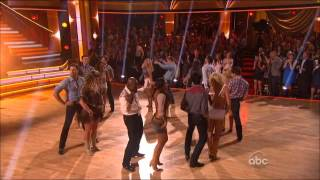 Dancing With The Stars - Group Dance - Country Western