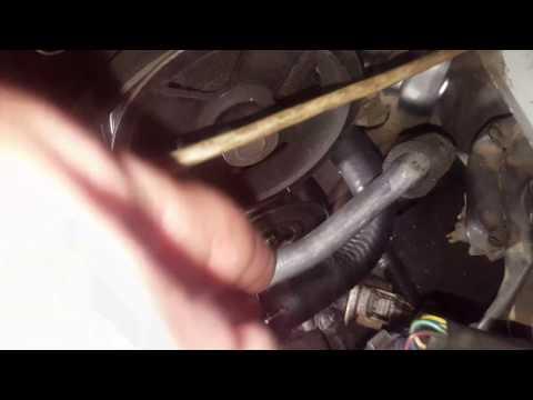 Расположение у Toyota RAV4 ремня генератора