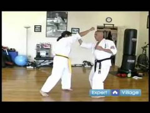 Beginner Kyokushin Karate Techniques : How to Do a Knife Hand Strike in Kyokushin Karate