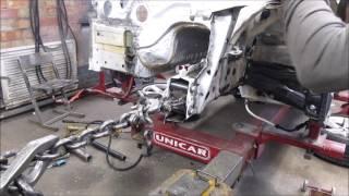 BMW 3. Works with metal. Работы с металом.