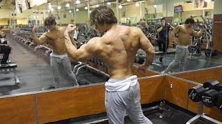 getlinkyoutube.com-Bulked Up: Jeff Seid Back Workout