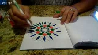 getlinkyoutube.com-Introduction to Adult Coloring Books | Introduction to Mandala Coloring Books