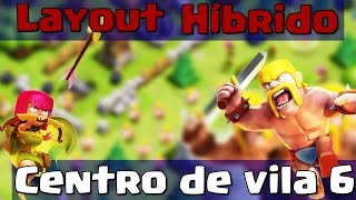 getlinkyoutube.com-Clash Of Clans - Melhor layout do mundo CV6/TH6