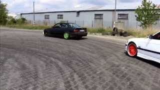 getlinkyoutube.com-Andrew - BMW E36 328i 240KM - drifting [FULL HD]