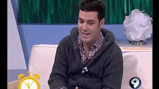"""Tommaso Primo presenta videoclip """"Gioia"""" a Canale 9"""