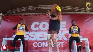 Gigy Money akata mauno akiperform wimbo wake mpya wa 'MIMINA' Kwa mara ya Kwanza