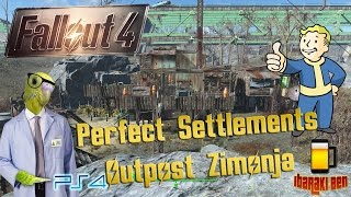 getlinkyoutube.com-Fallout 4 Perfect Settlements - Outpost Zimonja
