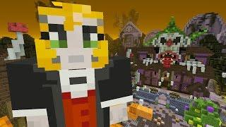 getlinkyoutube.com-Minecraft: Xbox - Battle Mini-game - New Halloween Map